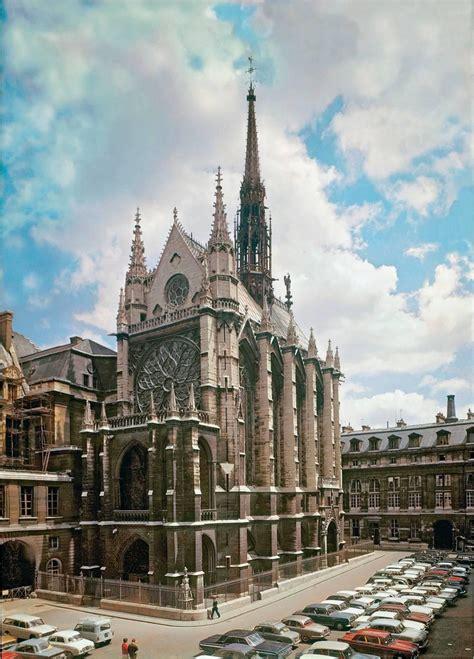 chapelle sainte paris exterior saint gothic louis france rayonnant architecture chapel ix vue 1241 test arquitectura flash final cards king