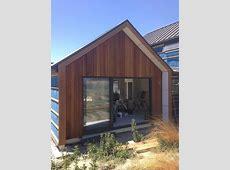 cedar cladding, wingwall, gable, building nz, buildmeco