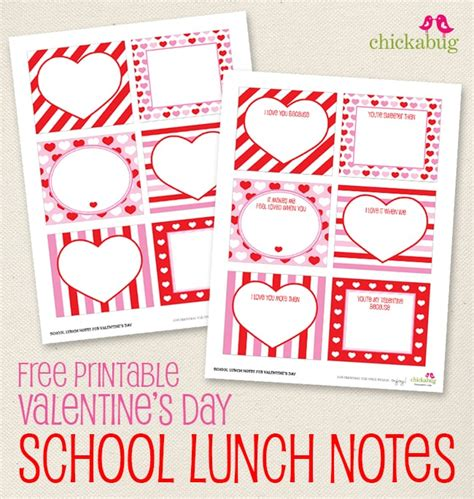 Love Notes | Valentine's Day Lunch Ideas For Kids ...
