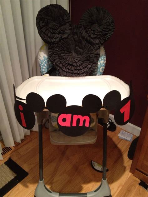 Mickey Mouse High Chair Decorations - 17 best images about liz on mickey mouse