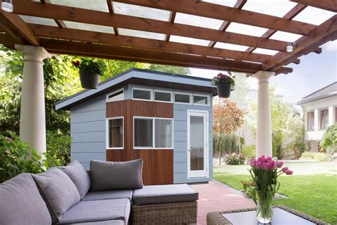 yard shed 5 cool prefab backyard sheds you can buy right now curbed