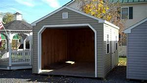 vinyl prefabricated garages 12x16 prefab garage amish With amish prefab garage
