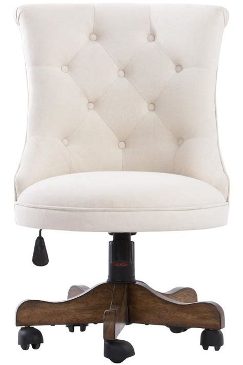 white tufted office chair remington 42 upholstered swivel chair with springs