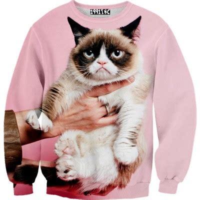 grumpy cat sweater pink grumpy cat sweater