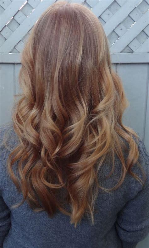 Ginger Blonde Hair Hairstyle Pinterest