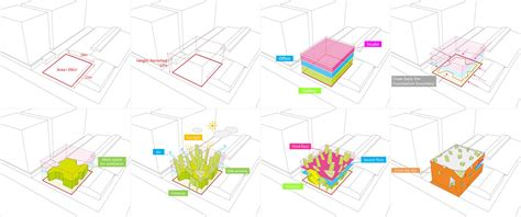 Diagram In Architecture by Gallery Of 798 Space Thanlab Office 18