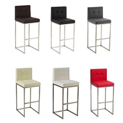 tabouret chaise de bar tabouret de bar edimbourg chaise fauteuil cuisine américaine couleurs diverses ebay