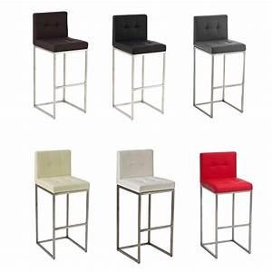 tabouret de bar edimbourg chaise fauteuil cuisine With deco cuisine pour tabouret de bar
