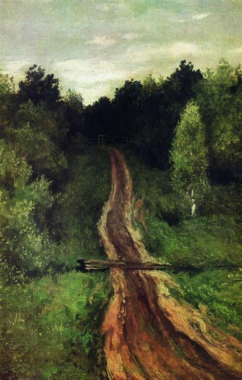 Road, 1899 - Isaac Levitan - WikiArt.org