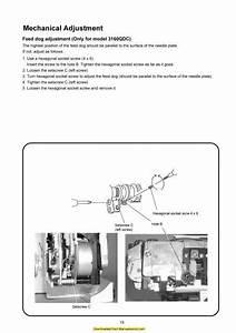 Janome 3160qdc Sewing Machine Service