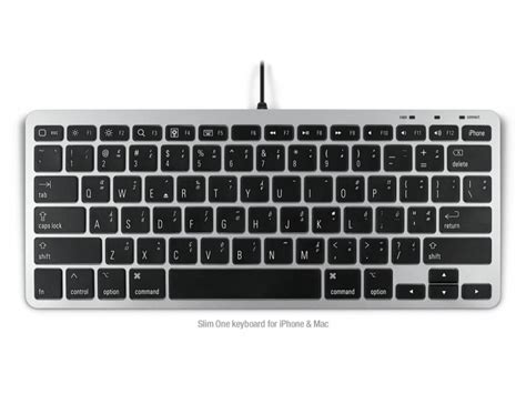 keyboards for iphone matias slim one keyboard for iphone and mac us fk311min