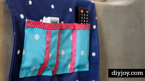clever diy sofa caddy  tv remotes  reach