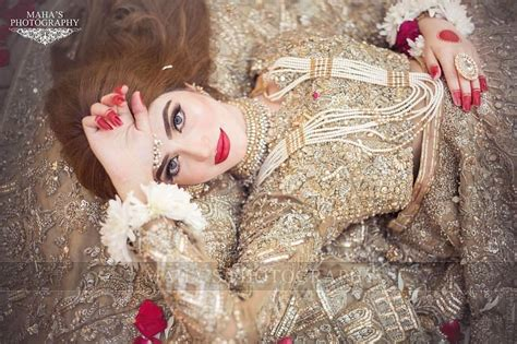 kinza hashmi  gorgeous   latest bridal