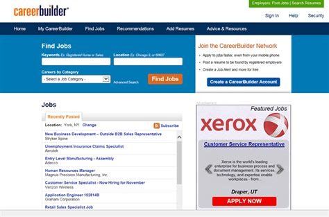 View My Resume On Careerbuilder by Careerbuilder Review For Searchers