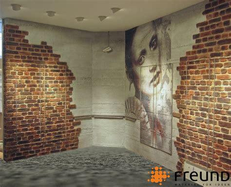 Wandgestaltung Mit Stein by Freund Gmbh