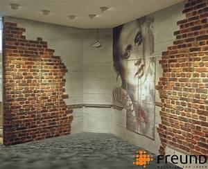 Wandgestaltung Mit Steinoptik : freund gmbh ~ Markanthonyermac.com Haus und Dekorationen