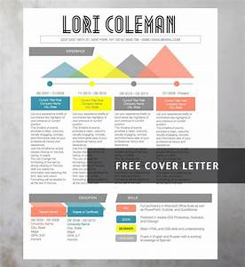 9 best colorful infographic resume template images on With colourful resume templates