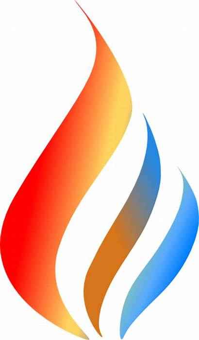 Flame Water Clip Boiling Clipart Vector Cliparts
