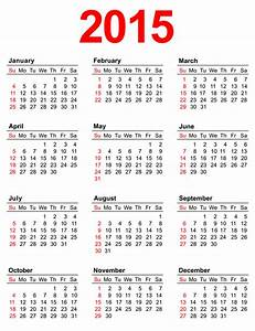7 best images of annual calendar 2015 printable 2015 With 2015 yearly calendar template