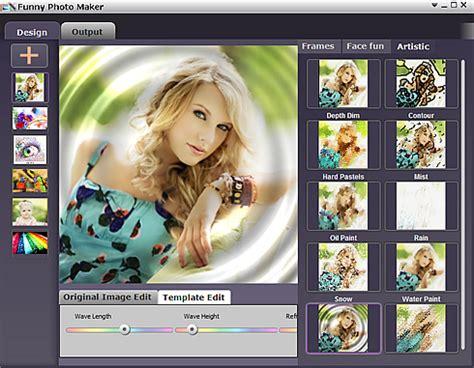 Funny Photo Maker, programa para crear fotomontajes y ...