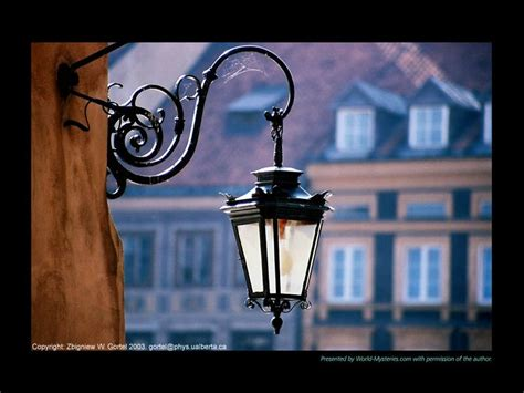 Old Street Lamps/ I've Photocopied This Image On To