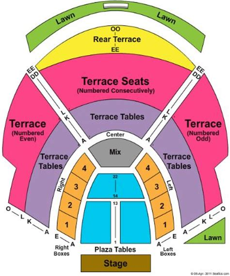 Chastain Park Amphitheatre Tickets and Chastain Park ...