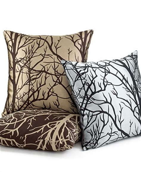 macys throw pillows softline element tree 20 quot square decorative pillows