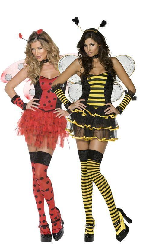 guenstige karnevalskostueme damen biene und marienk 228 fer paar kost 252 m f 252 r damen gelb schwarz und rot schwarz g 252 nstige