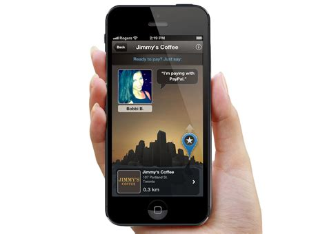 paypal mobile pay paypal and touchbistro combine mobile payments with point