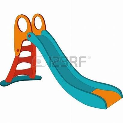 Playground Equipment Clipart Swing Swings Slide Cartoon
