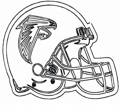 Coloring Nfl Football Helmet Pages Printable Michigan