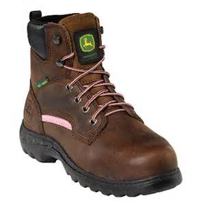 womens steel toe boots canada 39 s deere 6 quot steel toe met guard work boots brown 591812 work boots at sportsman 39 s