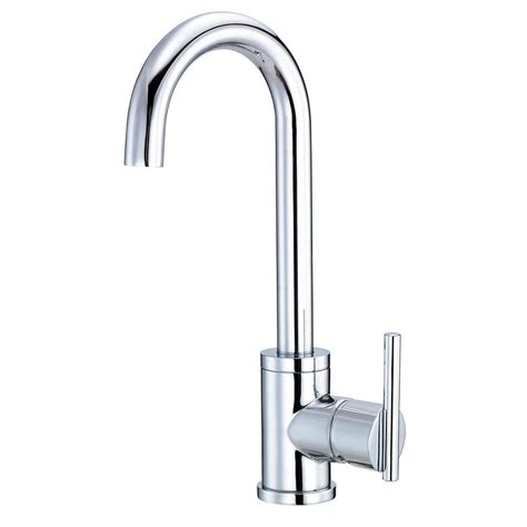 danze parma kitchen faucet danze parma single handle bar faucet in chrome d151558