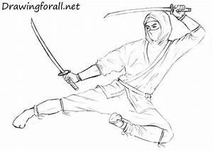 How to Draw a Ninja | DrawingForAll.net