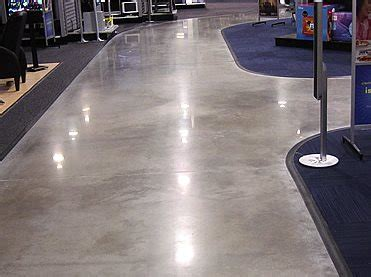 Burnishing Floors Vs Buffing Floors by Can All Concrete Be Polished The Concrete Network