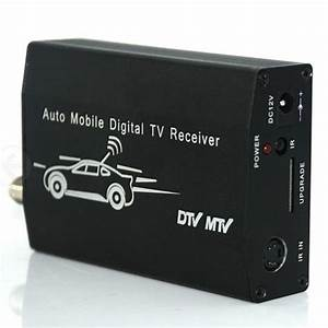 Rca Digital Tv Tuner Mpeg Car Tv Receive Box With Japan