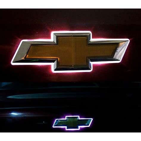 light up chevy emblem led car logo auto badge light white light for
