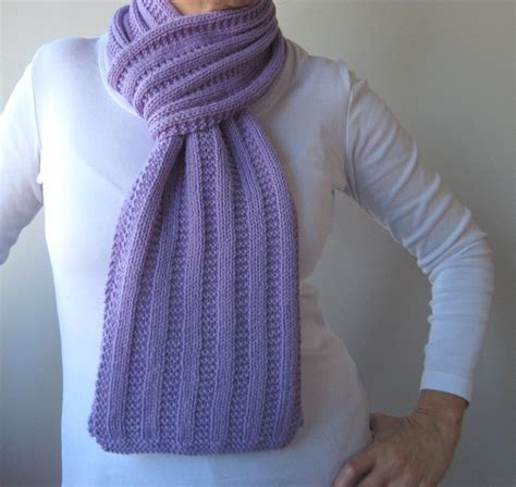 Ribbed Knit Scarf garter ribbed scarf by kbj designs craftsy