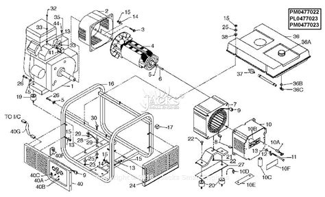 powermate formerly coleman pm0477023 parts diagram for