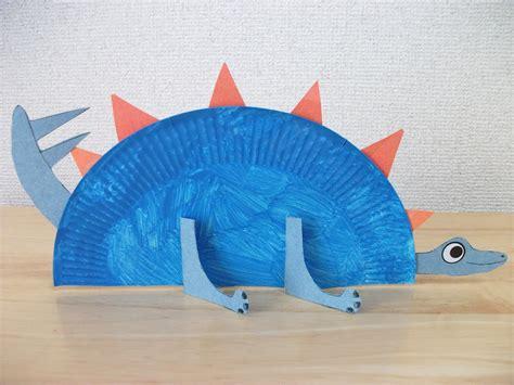 dinosaur projects for preschool preschool crafts for paper plate stegosaurus 495