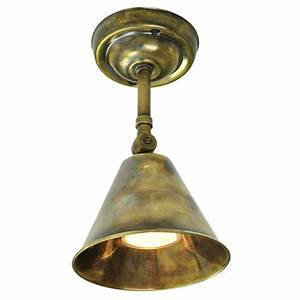 Adjustable wall or ceiling light fitting in vintage