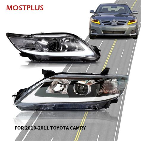 Toyota Camry Headlights by Headlight Led Drl Headlights L For 2010 2011 Toyota