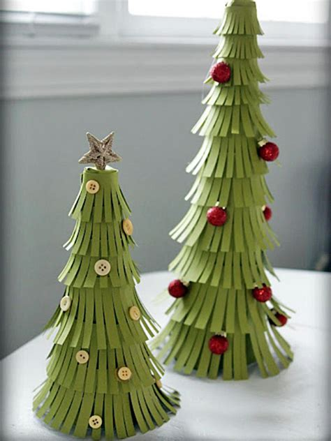 christmas tree out of paper pretty paper trees hgtv