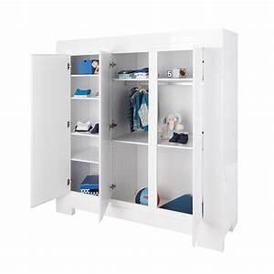 Kleiderschrank 3 Türig Weiß : kleiderschrank sky pinolino 3 t rig wei hochglanz softclose dannenfelser ~ Bigdaddyawards.com Haus und Dekorationen