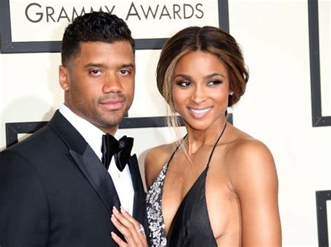 Russell Wilson and Ciara Baby