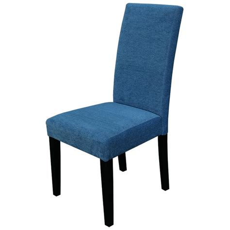 aprilia blue upholstered dining chairs set