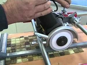 Comment Couper Du Verre : couper la mosaique de verre avec une d coupeuse lectrique youtube ~ Preciouscoupons.com Idées de Décoration