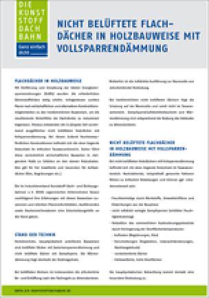 Flachdaecher In Holzbauweise by Flachd 228 Cher In Holzbauweise Kostenlose Dud Infoschrift
