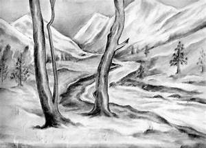 Simple Pencil Sketching Nature Pencil Sketch Drawing ...