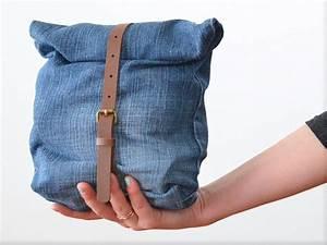 Nähen Aus Alten Jeans : diy anleitung upcycling tasche aus alter jeans n hen via jeans jean bag and ~ Frokenaadalensverden.com Haus und Dekorationen